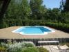 Oprava bet. povrchu u bazénu