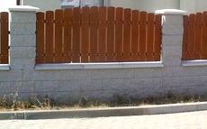 Zděný plot cena